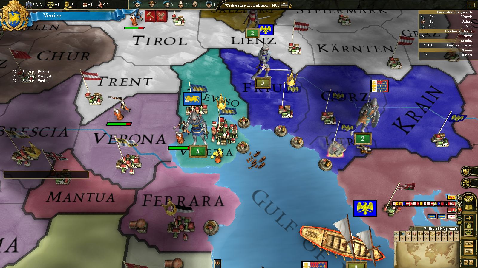 Europa Universalis III: Western - AD 1400 Spritepack screenshot