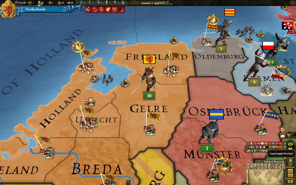 Europa Universalis III: Reformation SpritePack screenshot