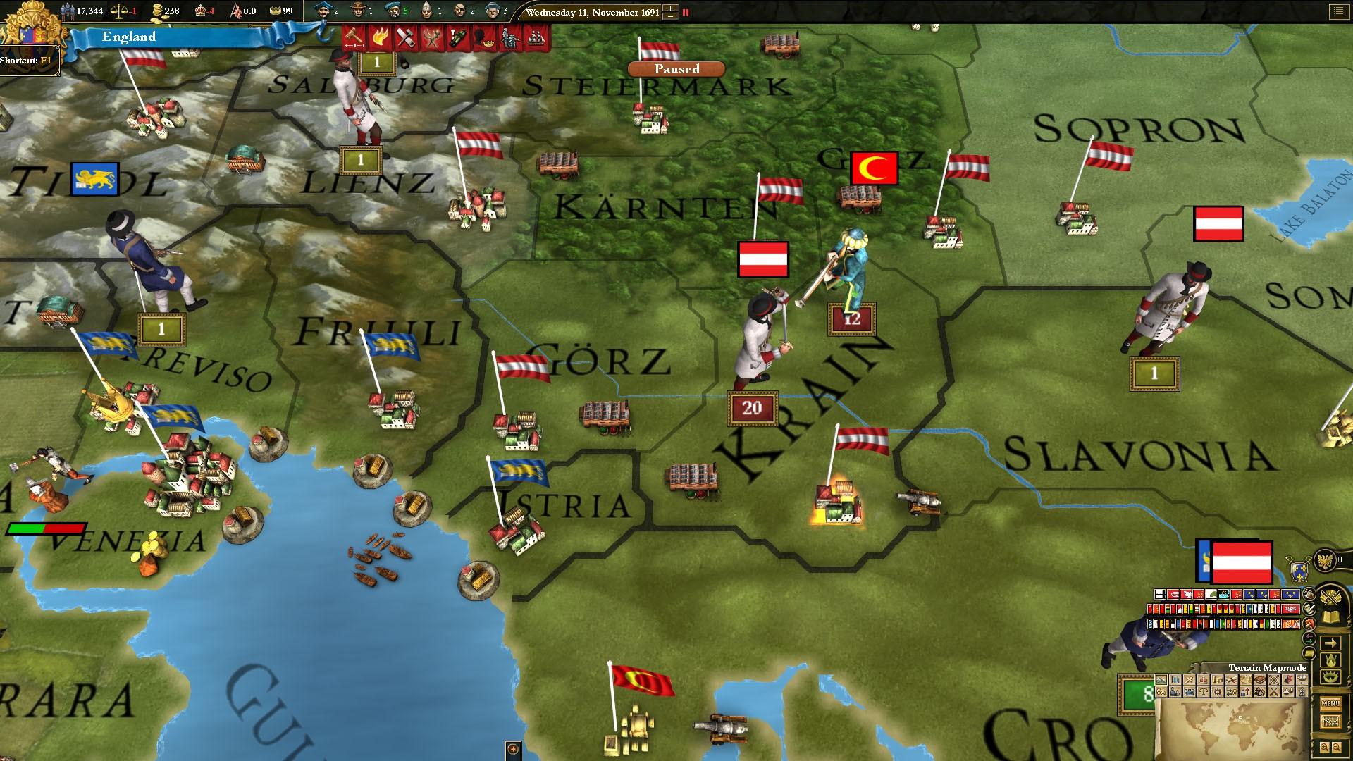 Europa Universalis III: Absolutism SpritePack screenshot