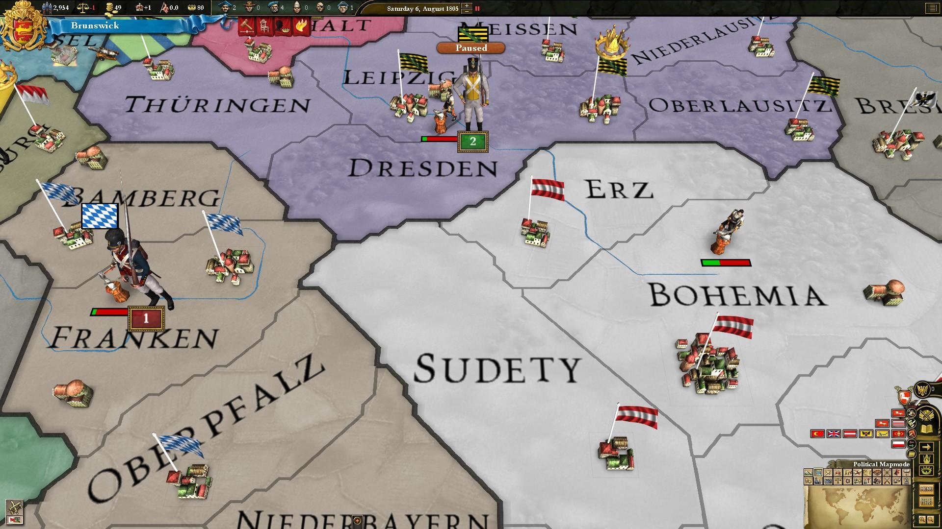 Europa Universalis III: Revolution II Unit Pack screenshot