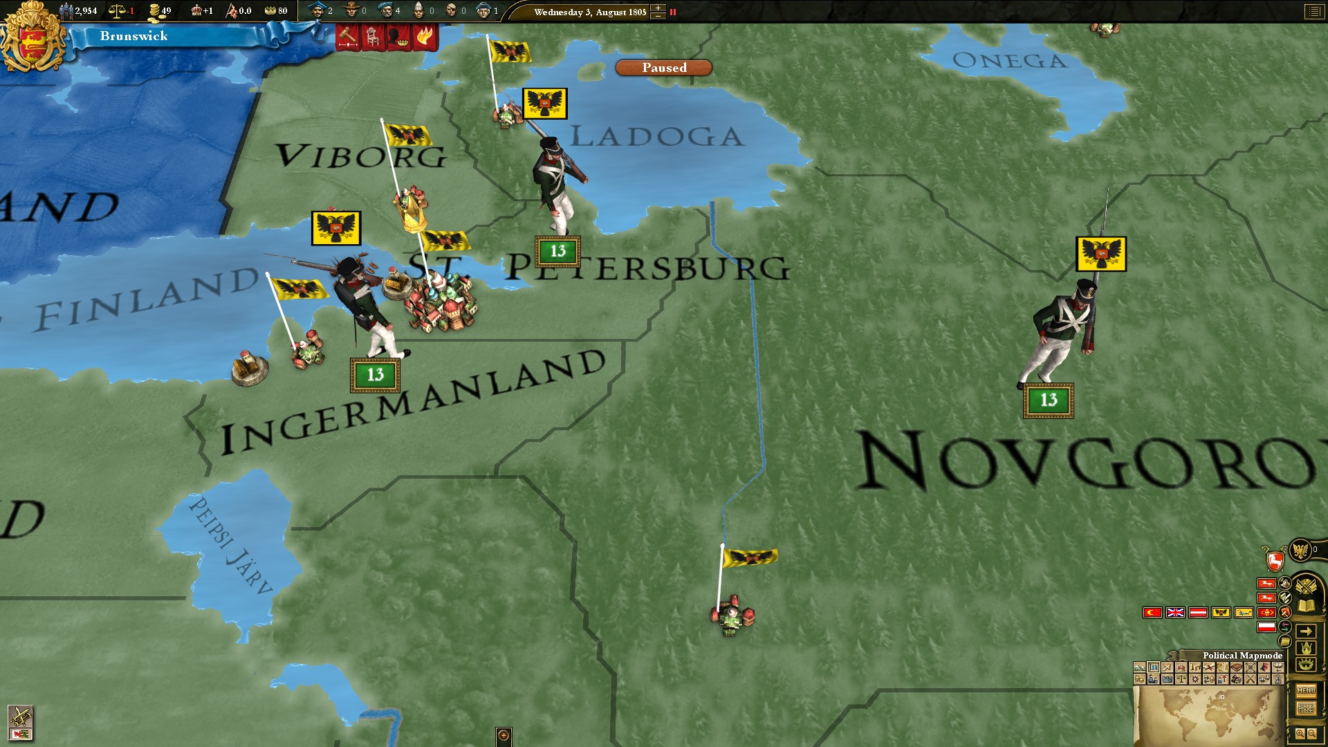 Europa Universalis III: Revolution II Unit Pack screenshot