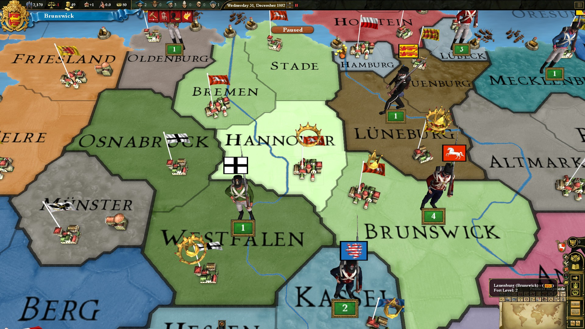 Europa Universalis III Music of the World screenshot
