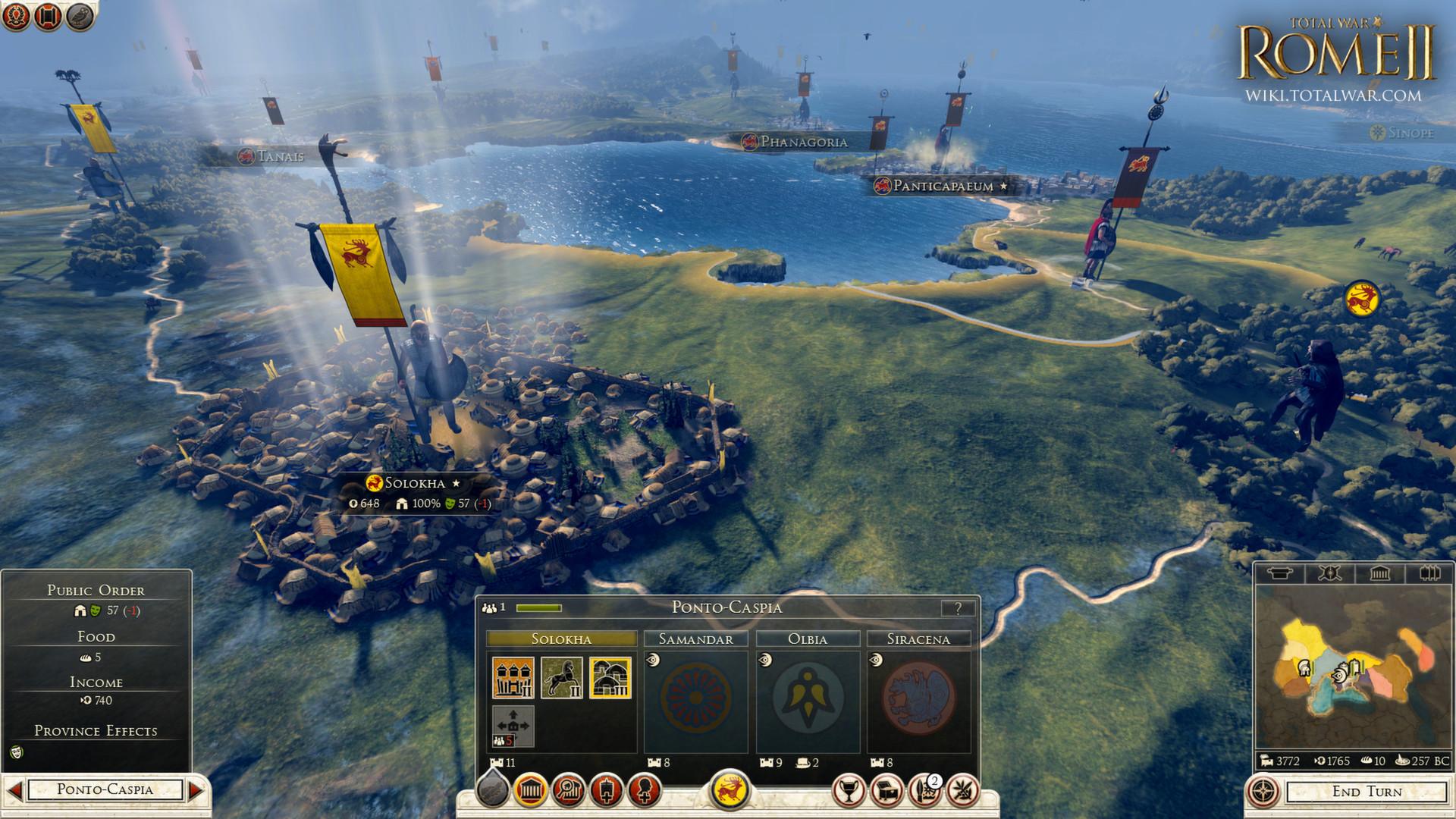 Total War: ROME II - Nomadic Tribes Culture Pack screenshot