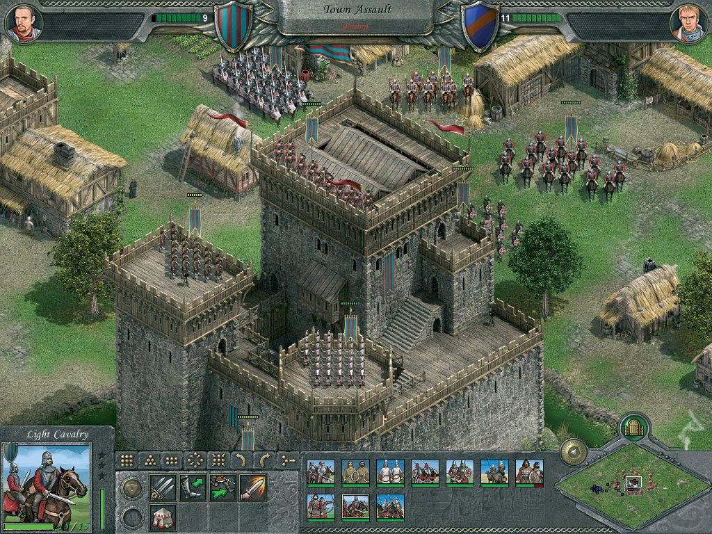 Knights of Honor screenshot