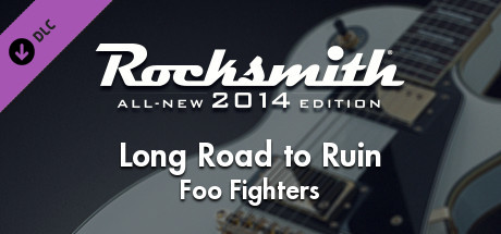 "Rocksmith 2014 – Foo Fighters - ""Long Road to Ruin"" steam gift free"