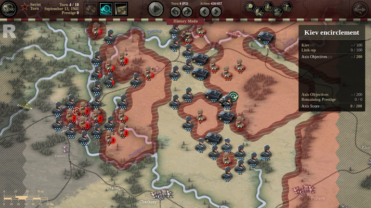 Unity of Command - Black Turn DLC screenshot