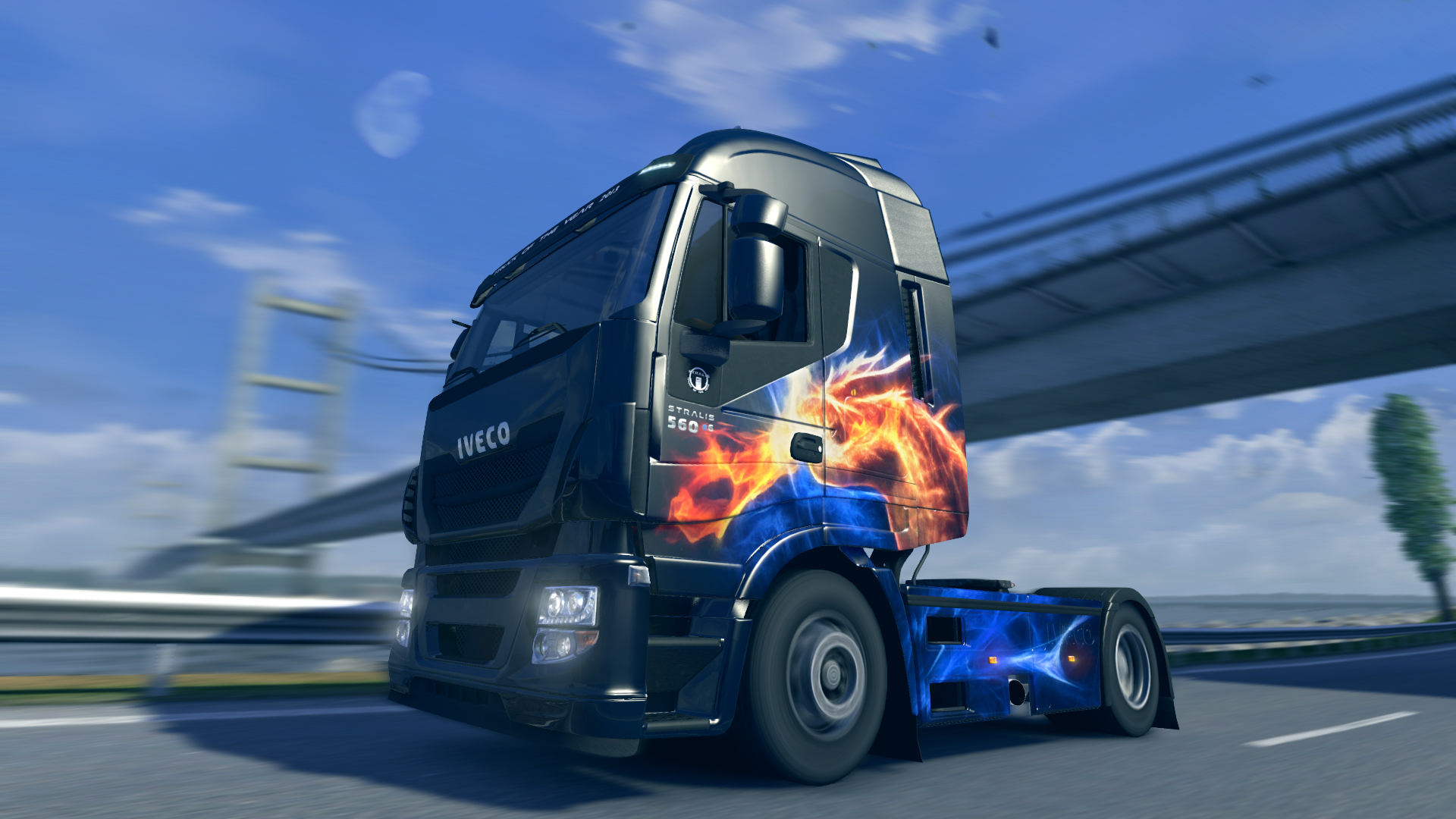 Euro Truck Simulator 2 - Halloween Paint Jobs Pack screenshot