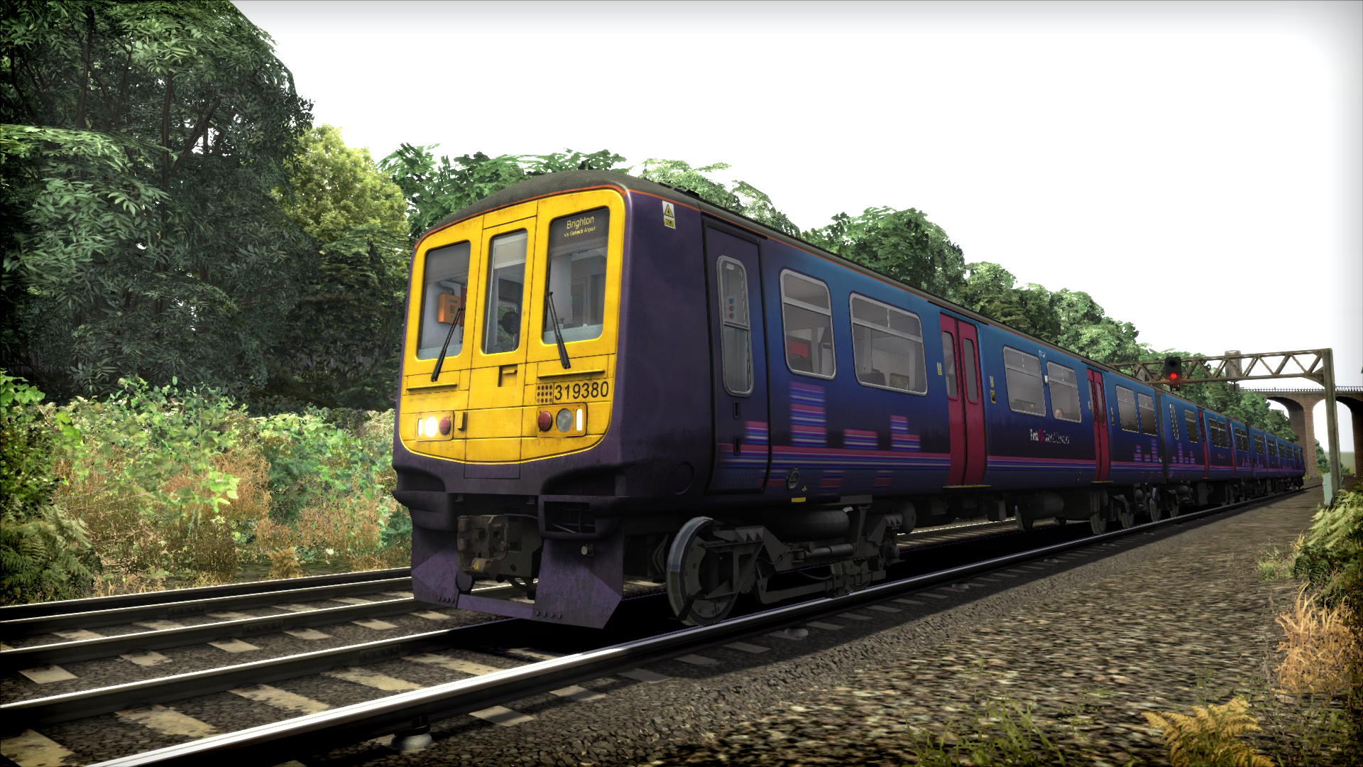 Train Simulator: First Capital Connect Class 319 EMU Add-On screenshot