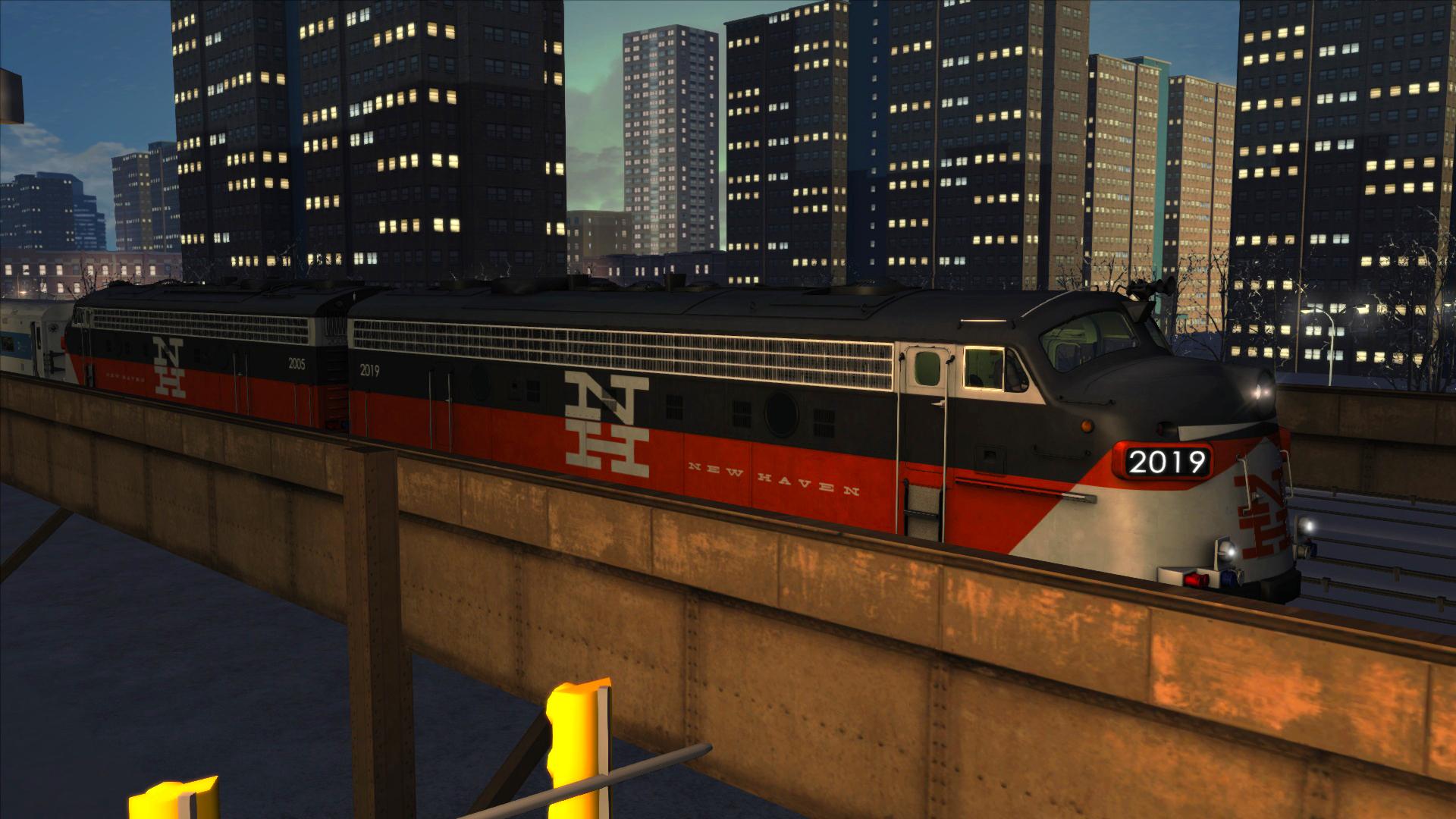 Train Simulator: New Haven FL9 Loco Add-On screenshot