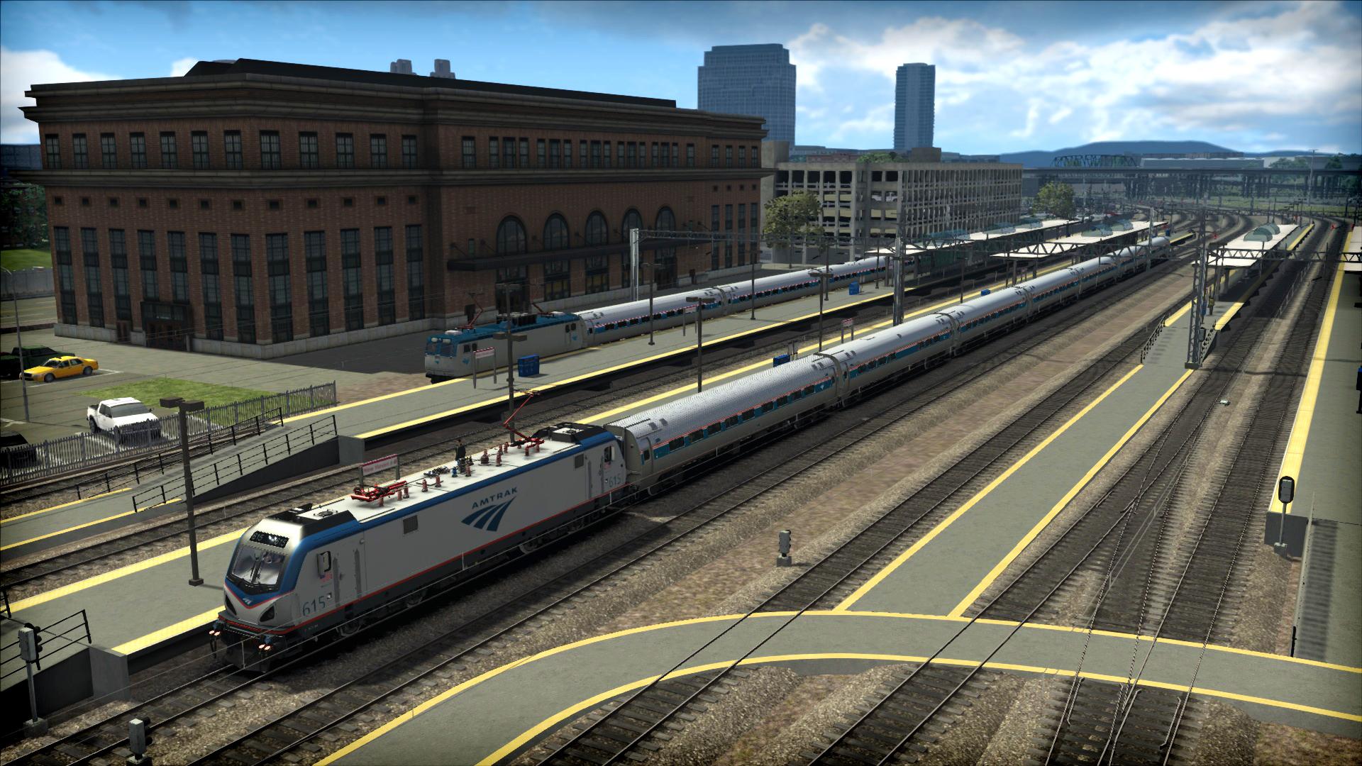 Train Simulator: NEC: New York-New Haven Route Add-On screenshot
