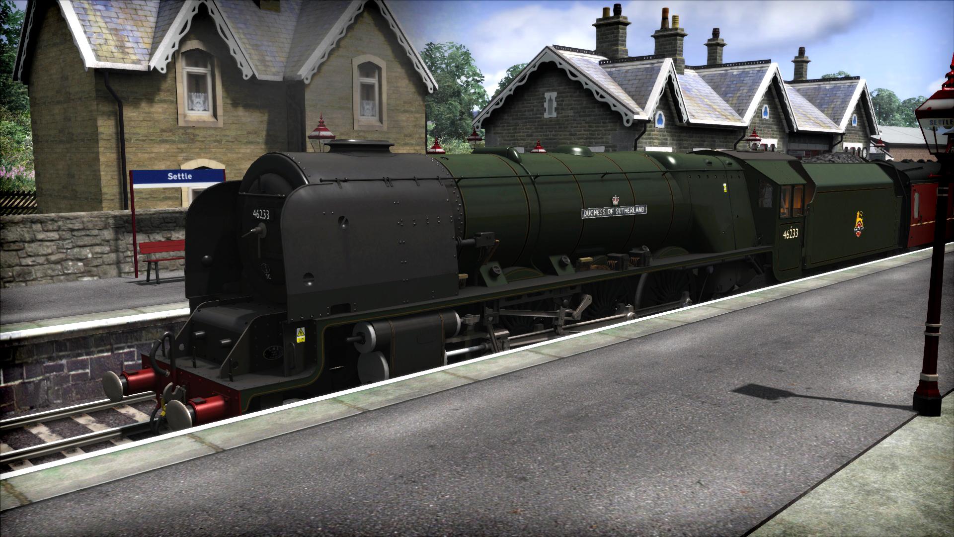 Train Simulator: Duchess of Sutherland Loco Add-On screenshot