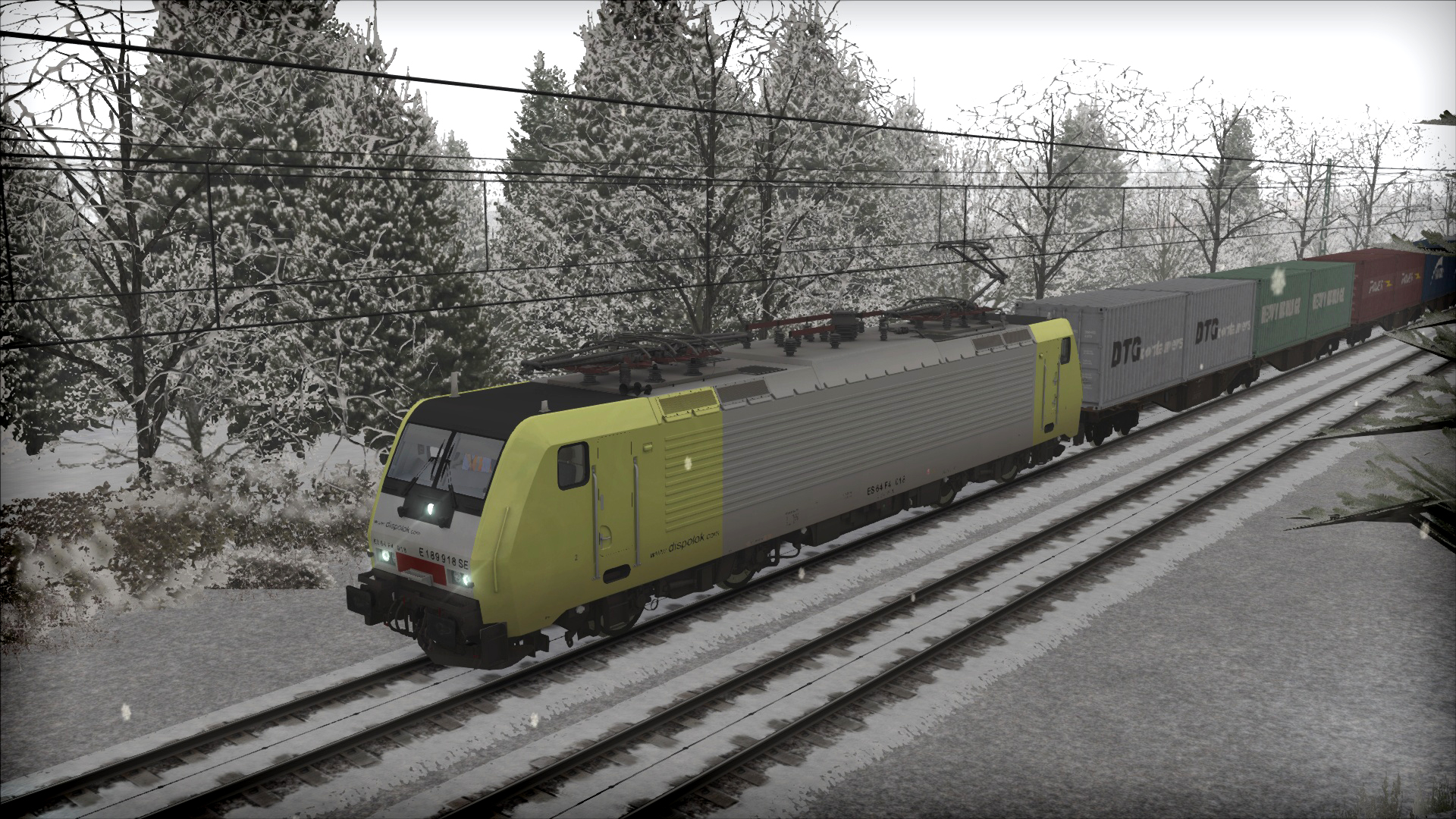 Train Simulator: Dispolok BR 189 Loco Add-On screenshot