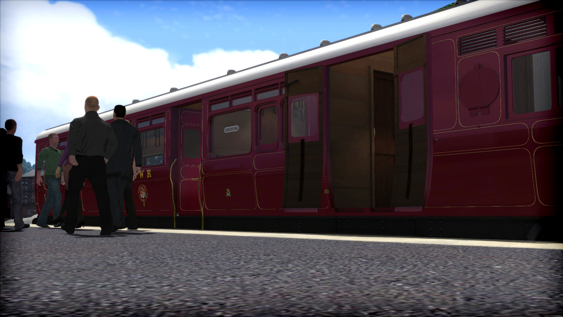 Train Simulator: GWR Steam Railmotor Loco Add-On screenshot