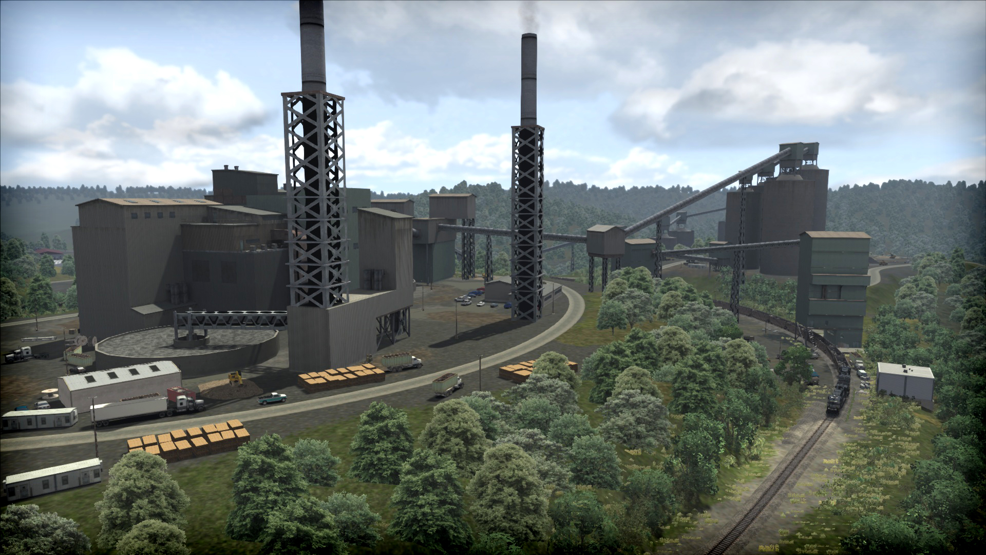 Train Simulator: Norfolk Southern Coal District Route Add-On screenshot