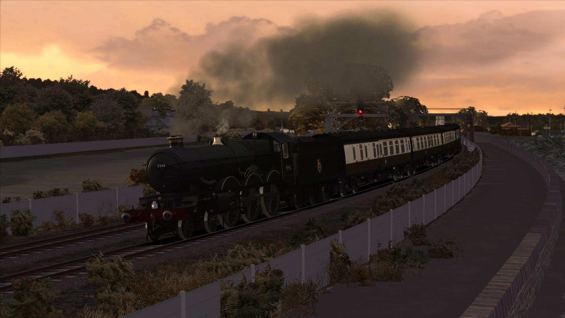 Train Simulator: BR Castle Class Loco Add-On screenshot