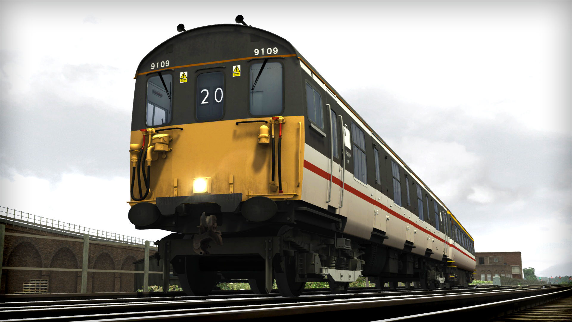 Train Simulator: BR Class 73 'Gatwick Express' Loco Add-On screenshot