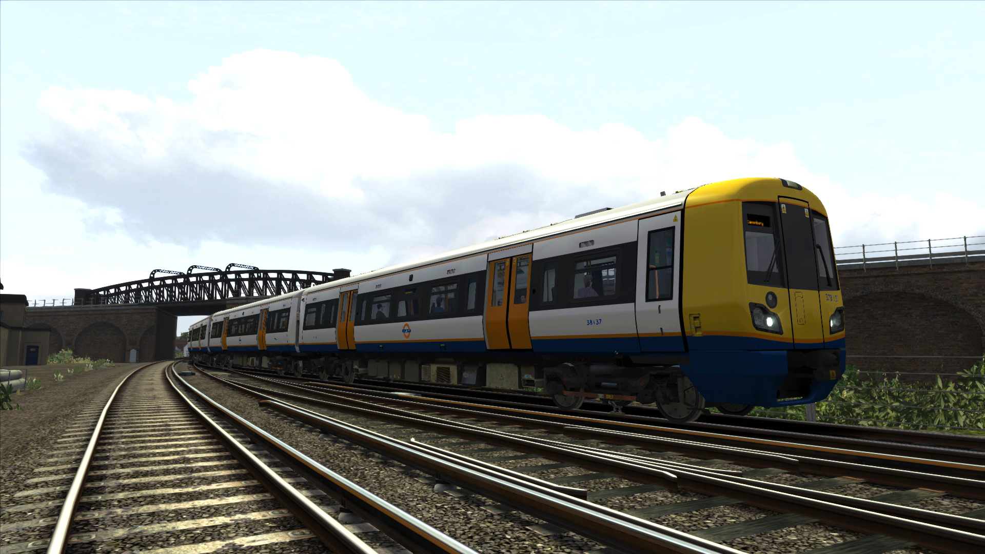 Train Simulator: London Overground Class 378 'Capitalstar' EMU Add-On screenshot