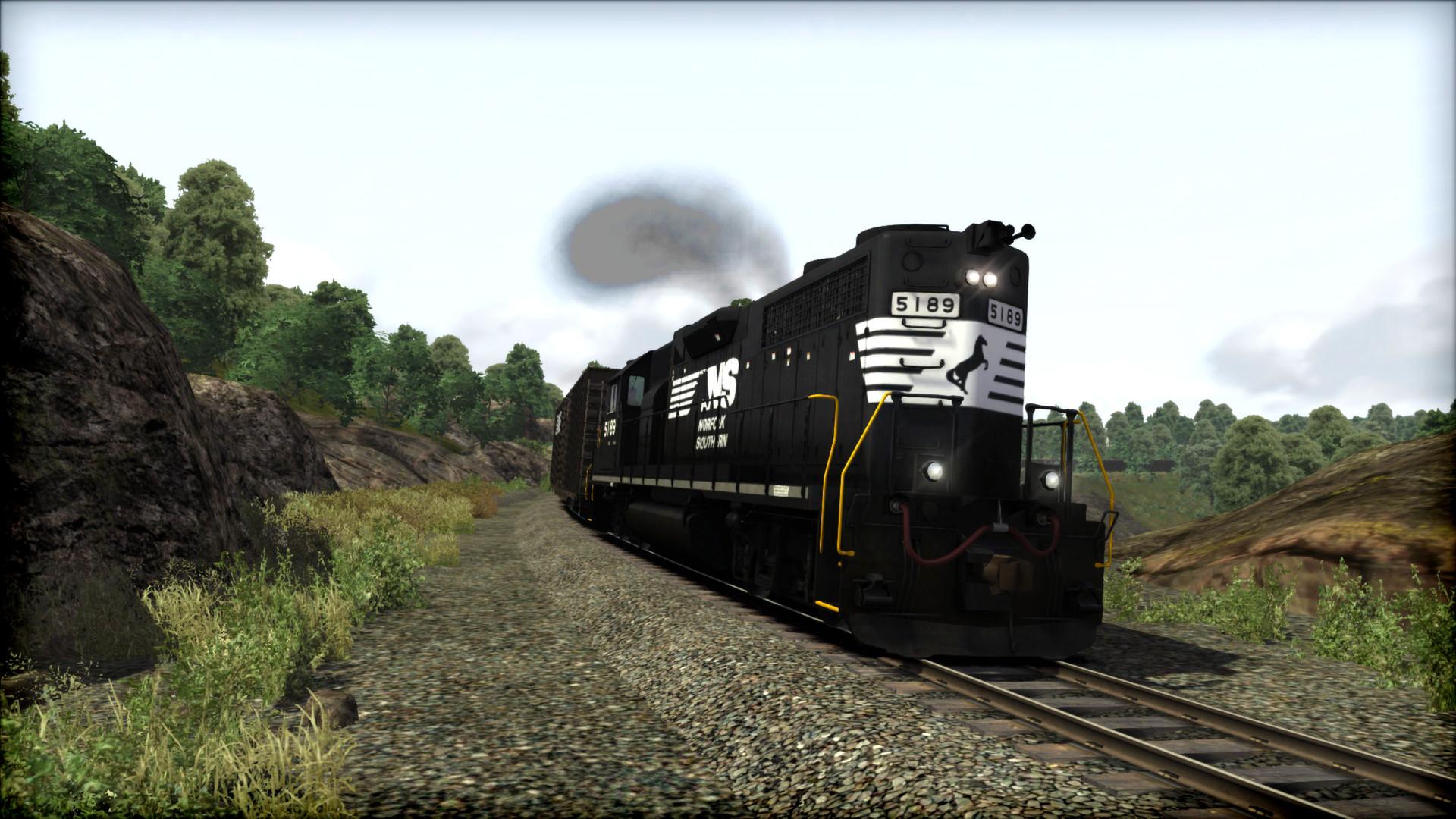 Train Simulator: Norfolk Southern GP38-2 High Hood Loco Add-On screenshot