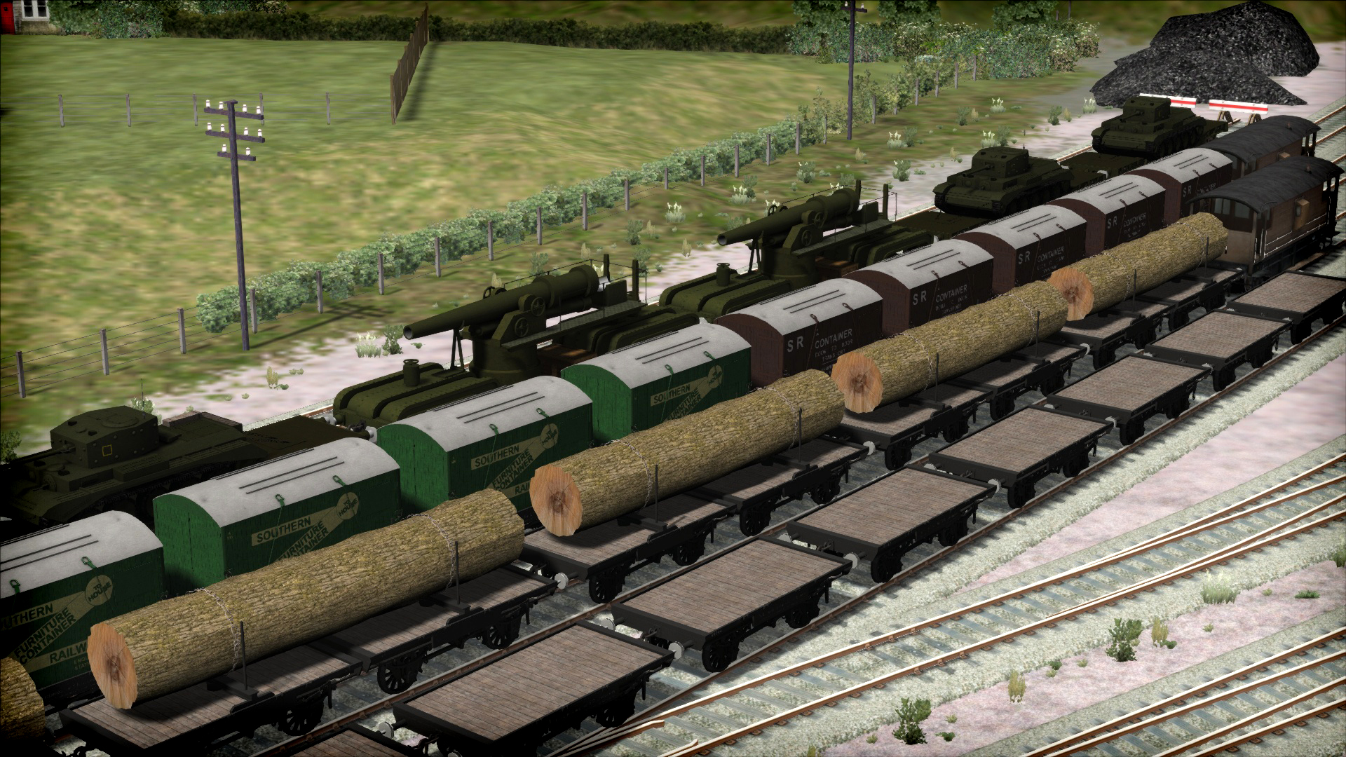 Train Simulator: Bulleid Q1 Class Loco Add-On screenshot