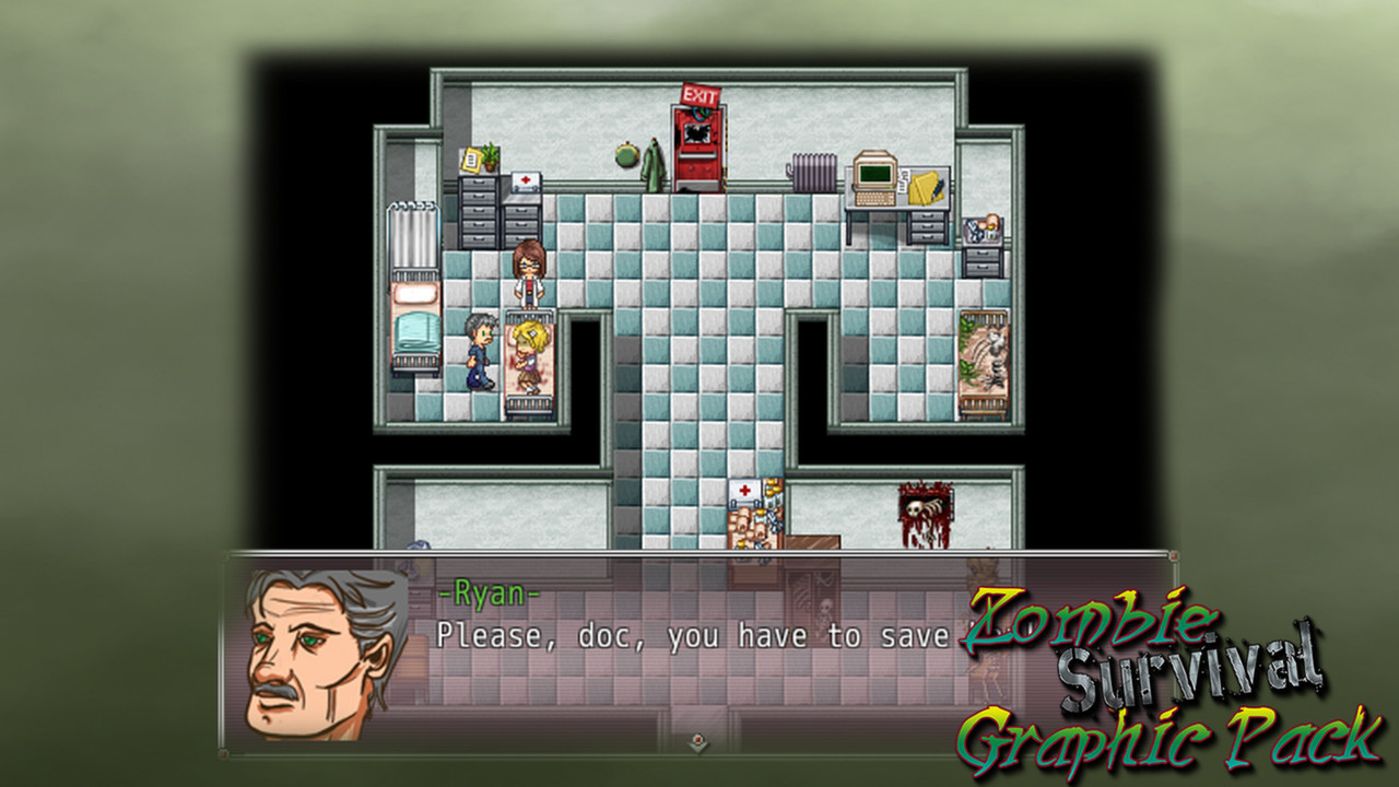 Rpg maker vx ace zombie survival graphic pack hyreaccomp for Apartment 412 rpg maker