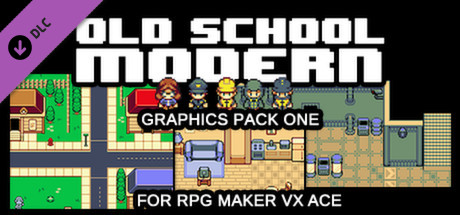 RPG Maker VX Ace - Old School Modern Resource Pack