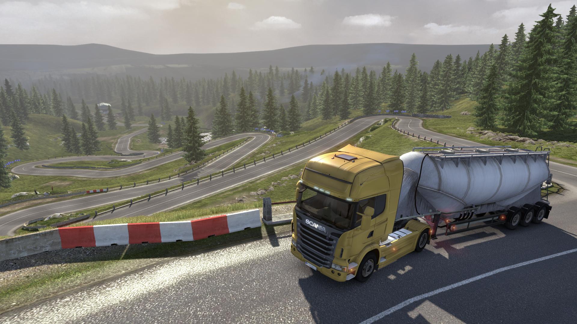 Scania Truck Driving Simulator screenshot