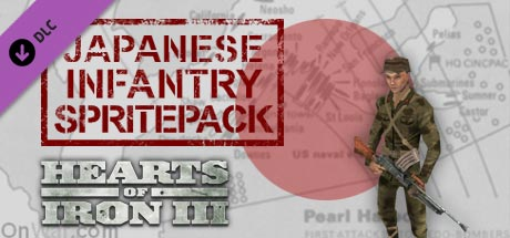 Hearts of Iron III: Japanese Infantry Pack DLC