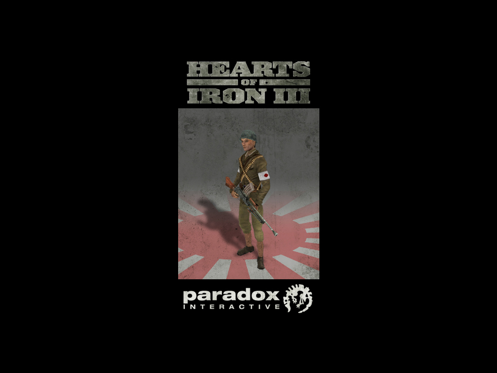 Hearts of Iron III: Japanese Infantry Pack DLC screenshot