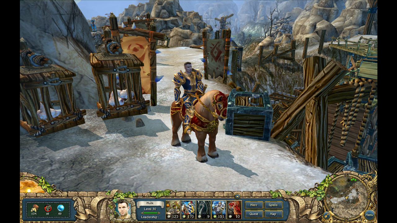 King's Bounty: The Legend screenshot