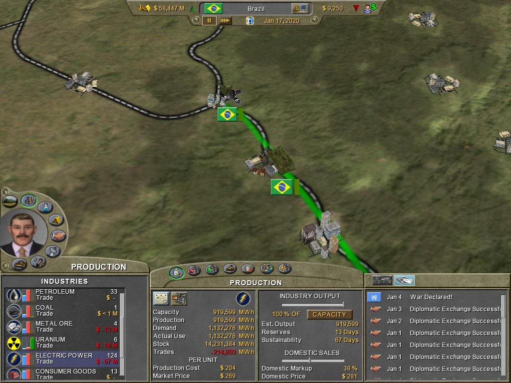 Supreme Ruler 2020 Gold screenshot