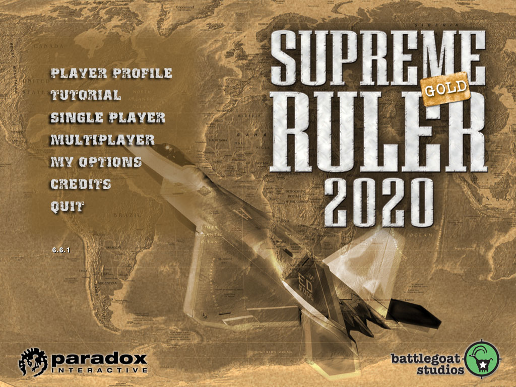 Supreme Ruler 2020 Gold screenshot