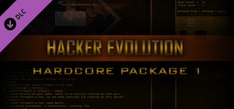 Hardcore Package Part 1 - for Hacker Evolution game image