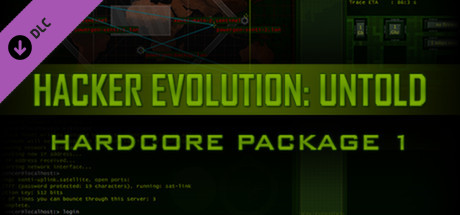 Hardcore Package Part 1 - for Hacker Evolution: Untold game image