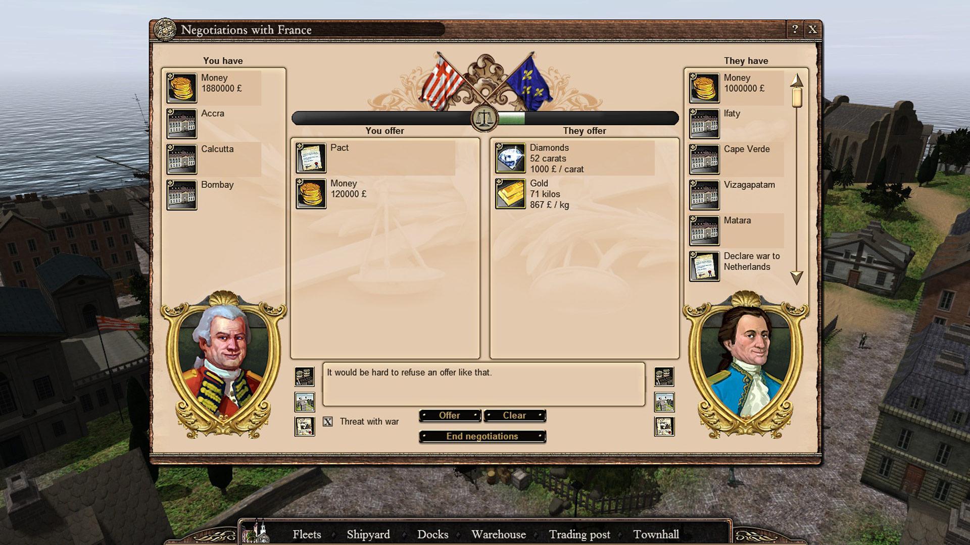 East India Company screenshot