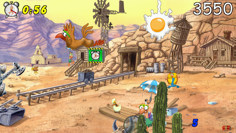 Chicken Shoot Gold screenshot