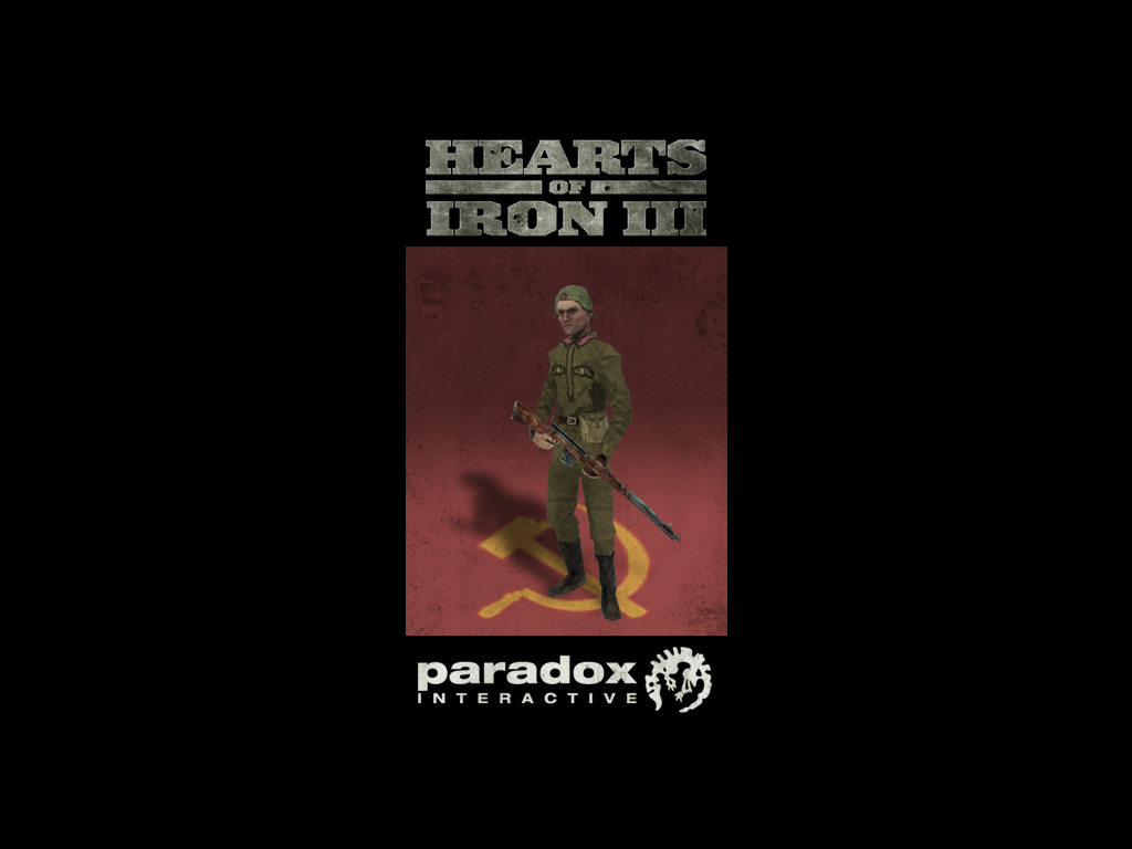 Hearts of Iron III: Soviet Infantry Pack DLC screenshot