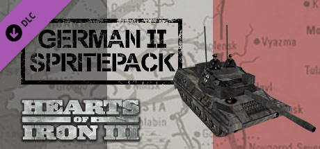 Hearts of Iron III DLC: German II Spritepack