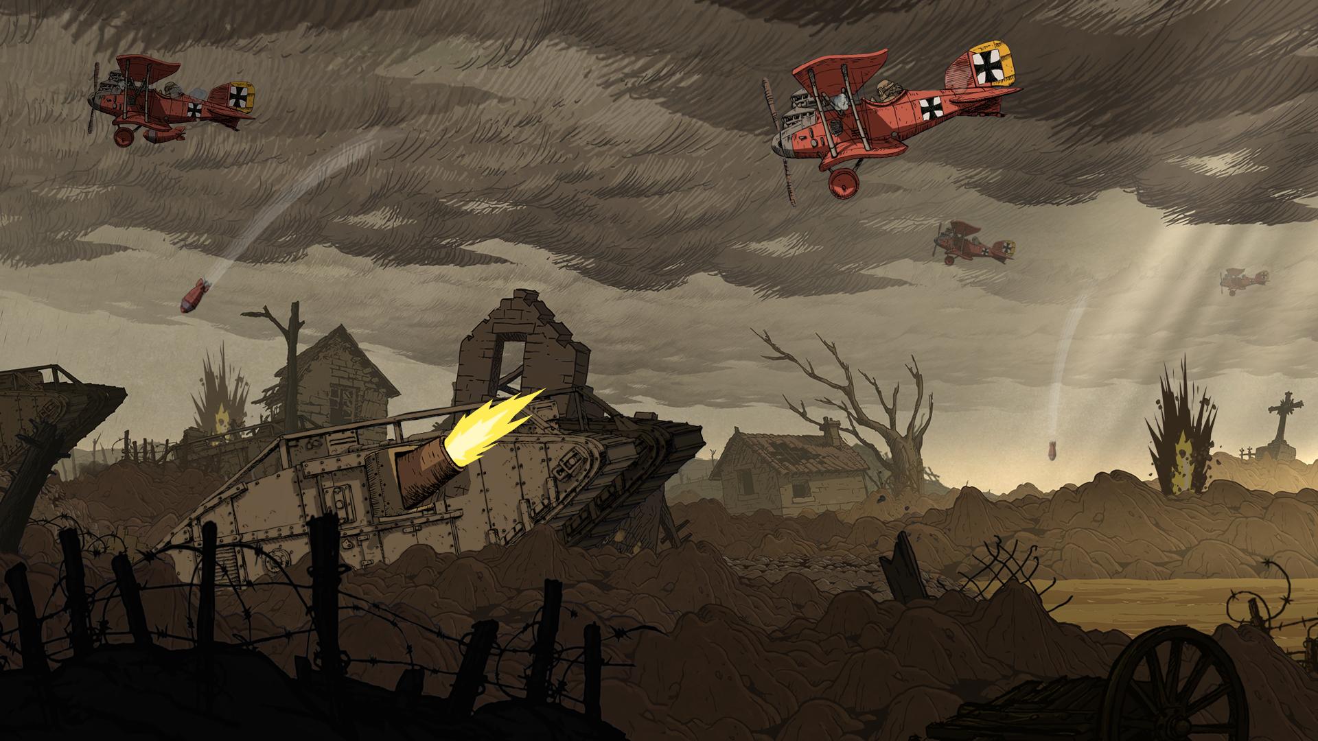 Valiant Hearts: The Great War / Soldats Inconnus : Mémoires de la Grande Guerre screenshot