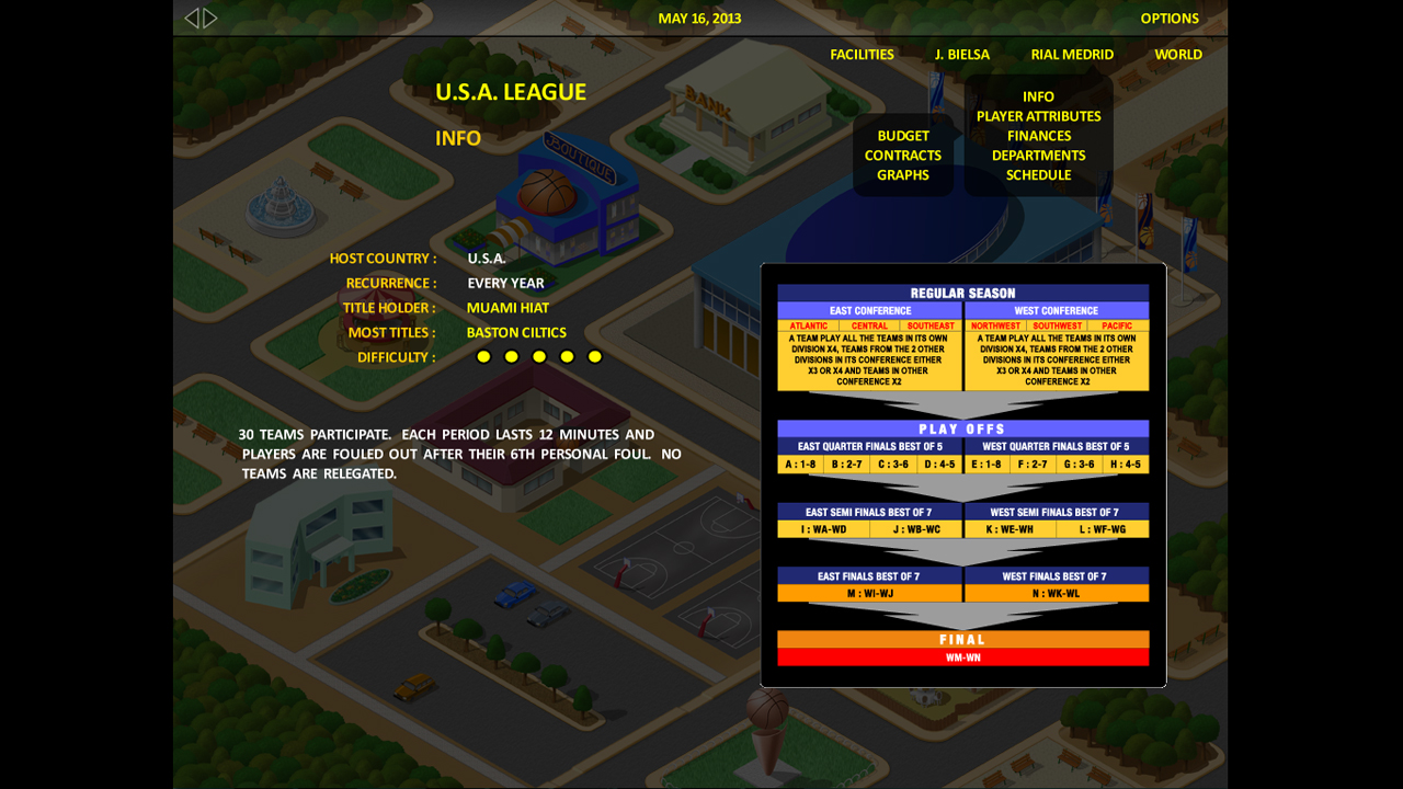World Basketball Tycoon screenshot