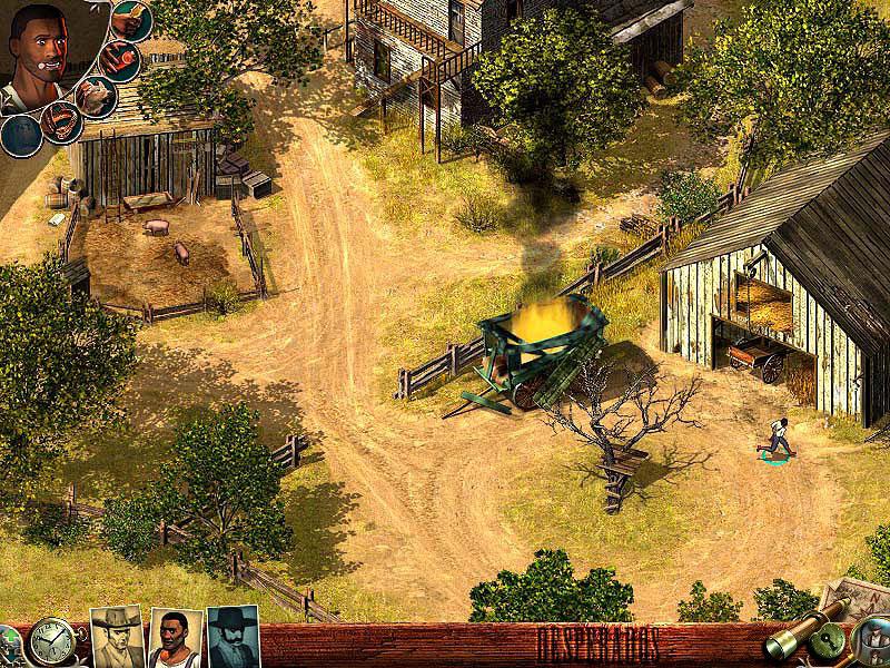 Desperados: Wanted Dead or Alive screenshot