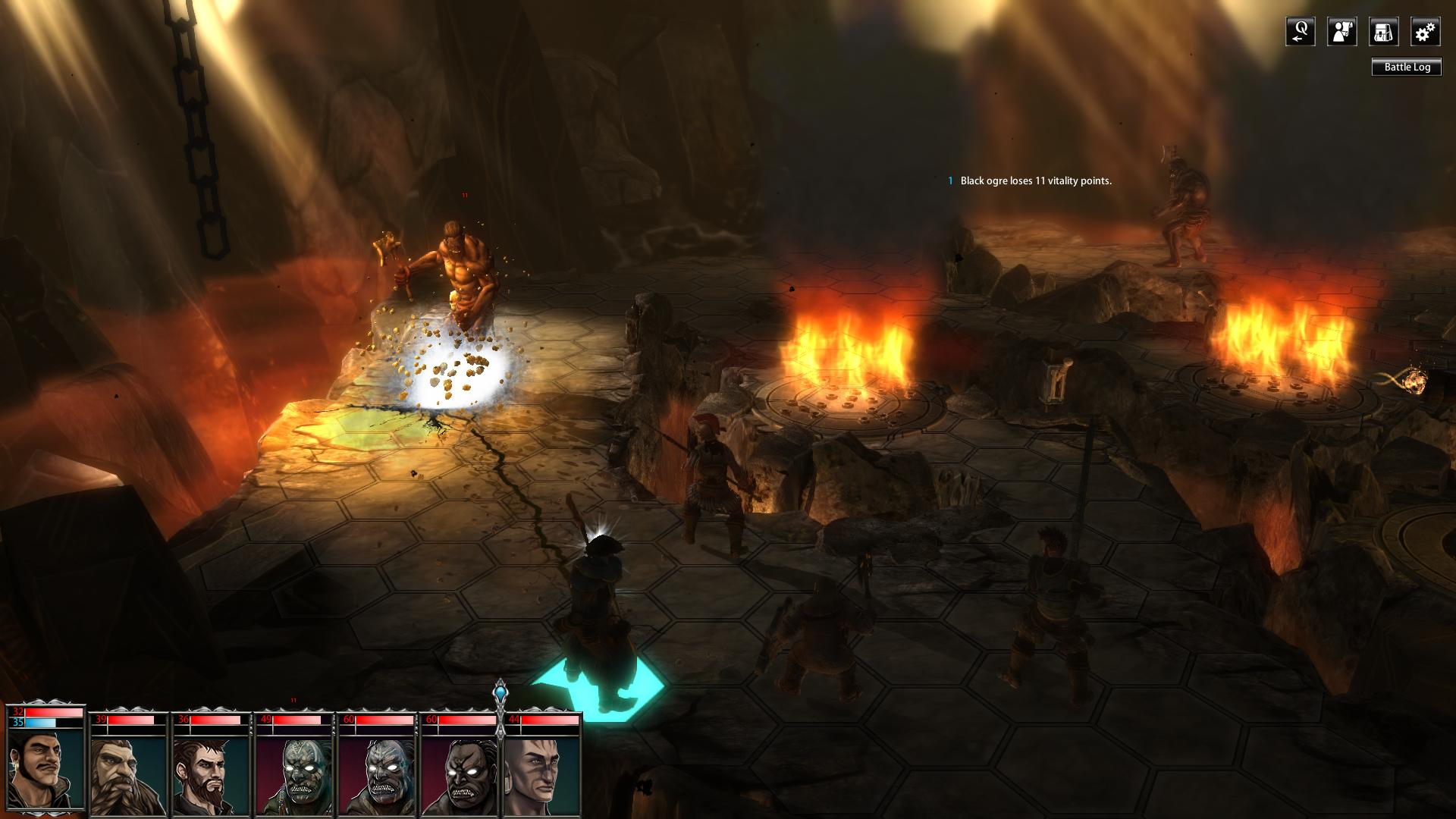 Blackguards Deluxe Edition screenshot