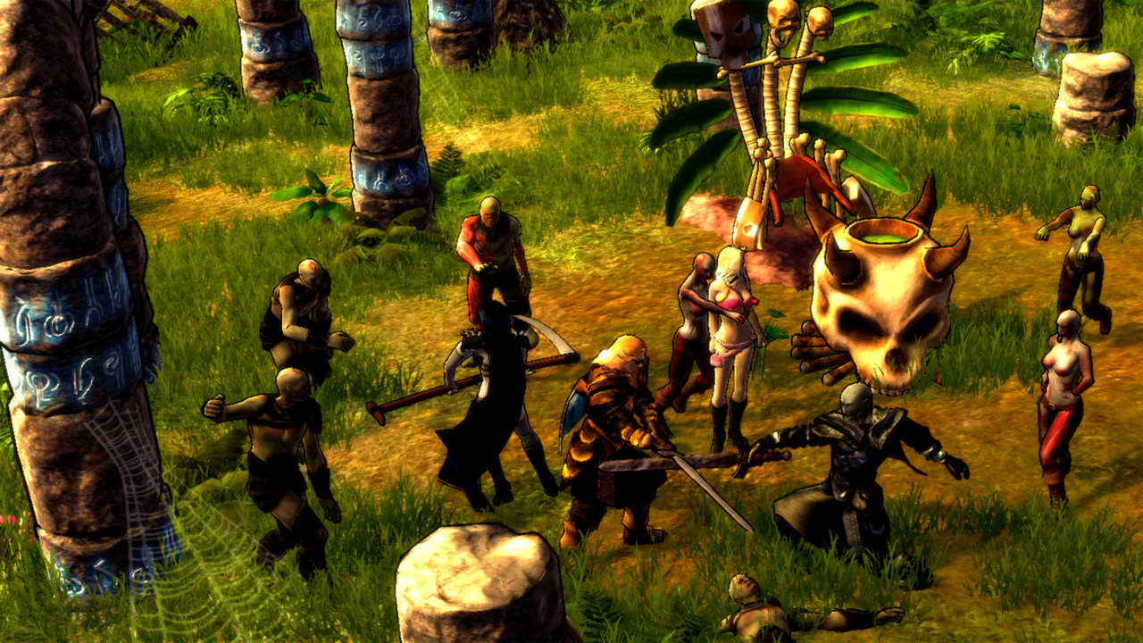 Holy Avatar vs. Maidens of the Dead screenshot