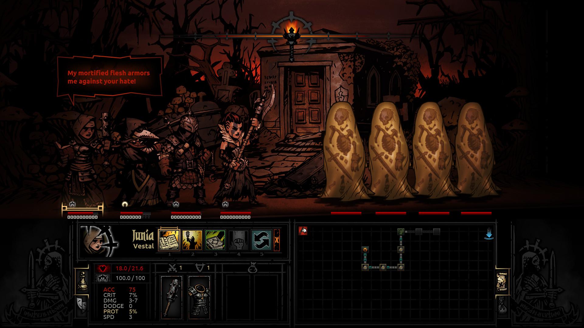 darkest dungeon on steam