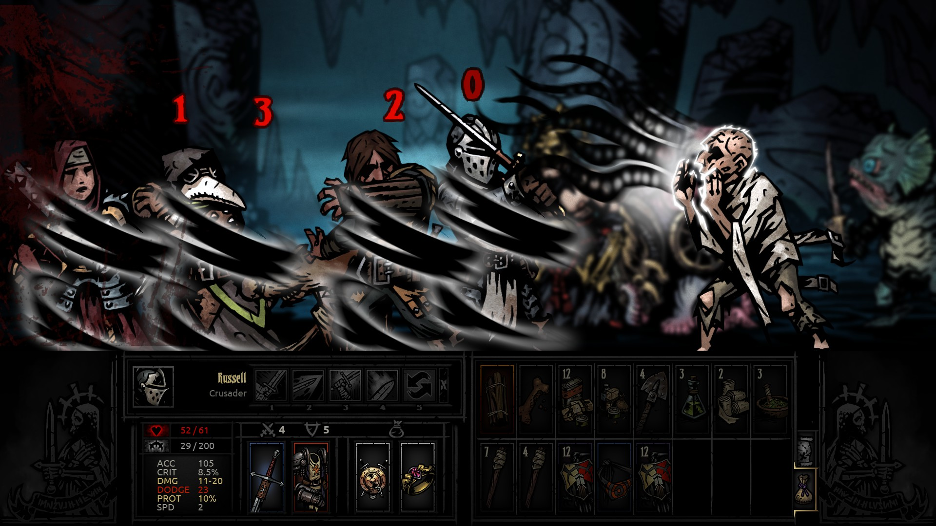 Darkest Dungeon screenshot