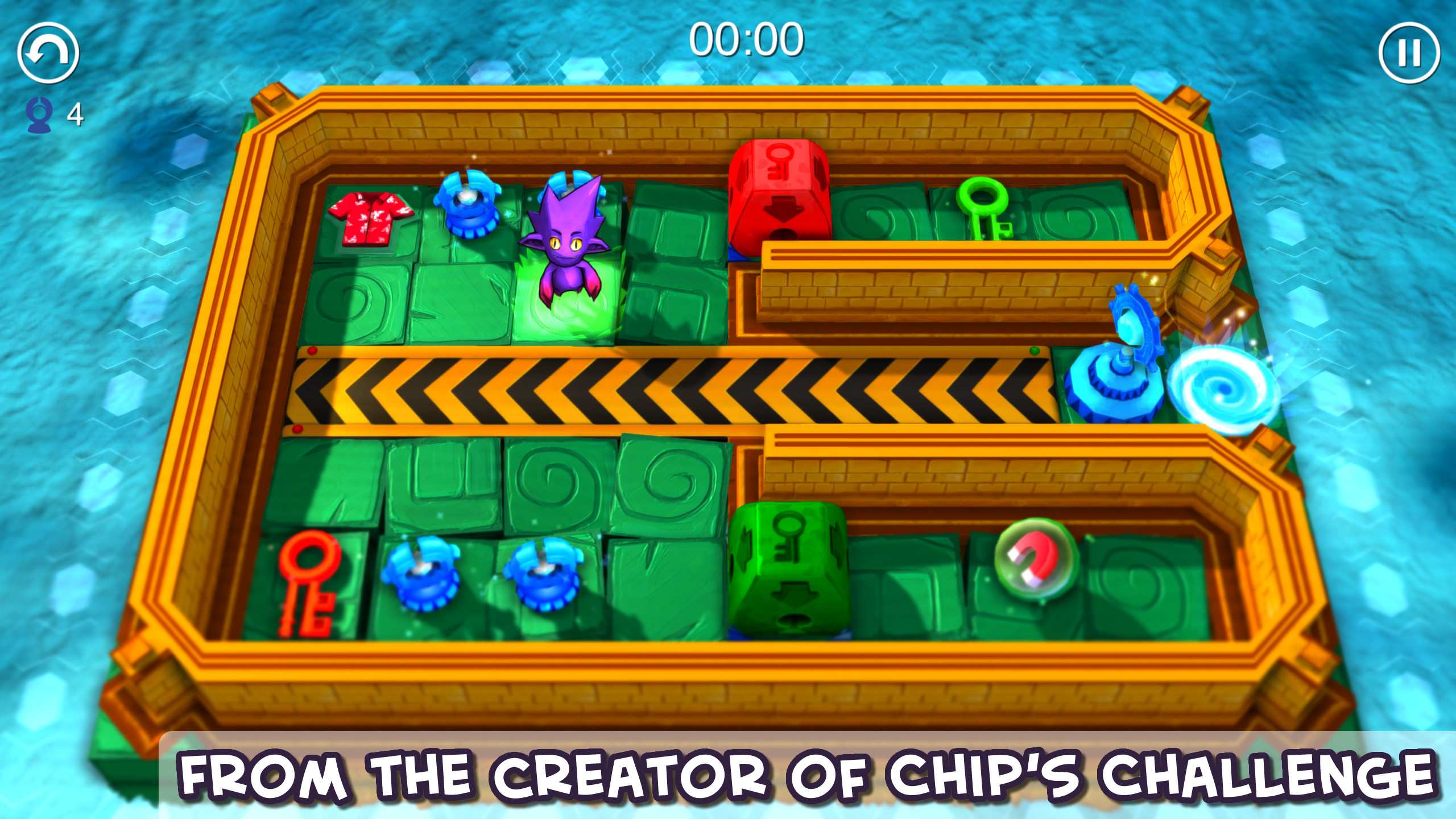 Chuck's Challenge 3D screenshot