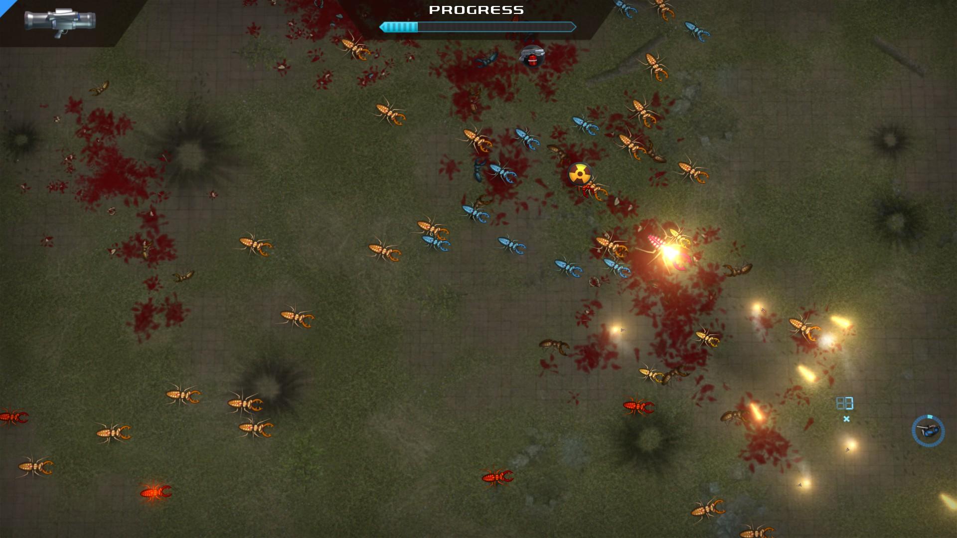 Crimsonland screenshot