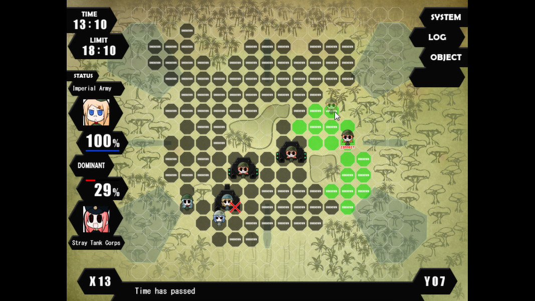 War of the Human Tanks screenshot