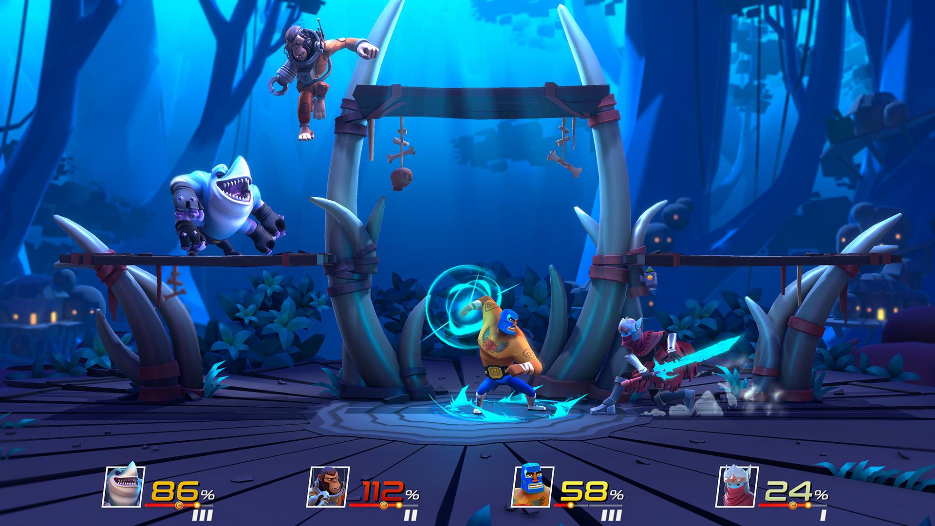 Brawlout screenshot