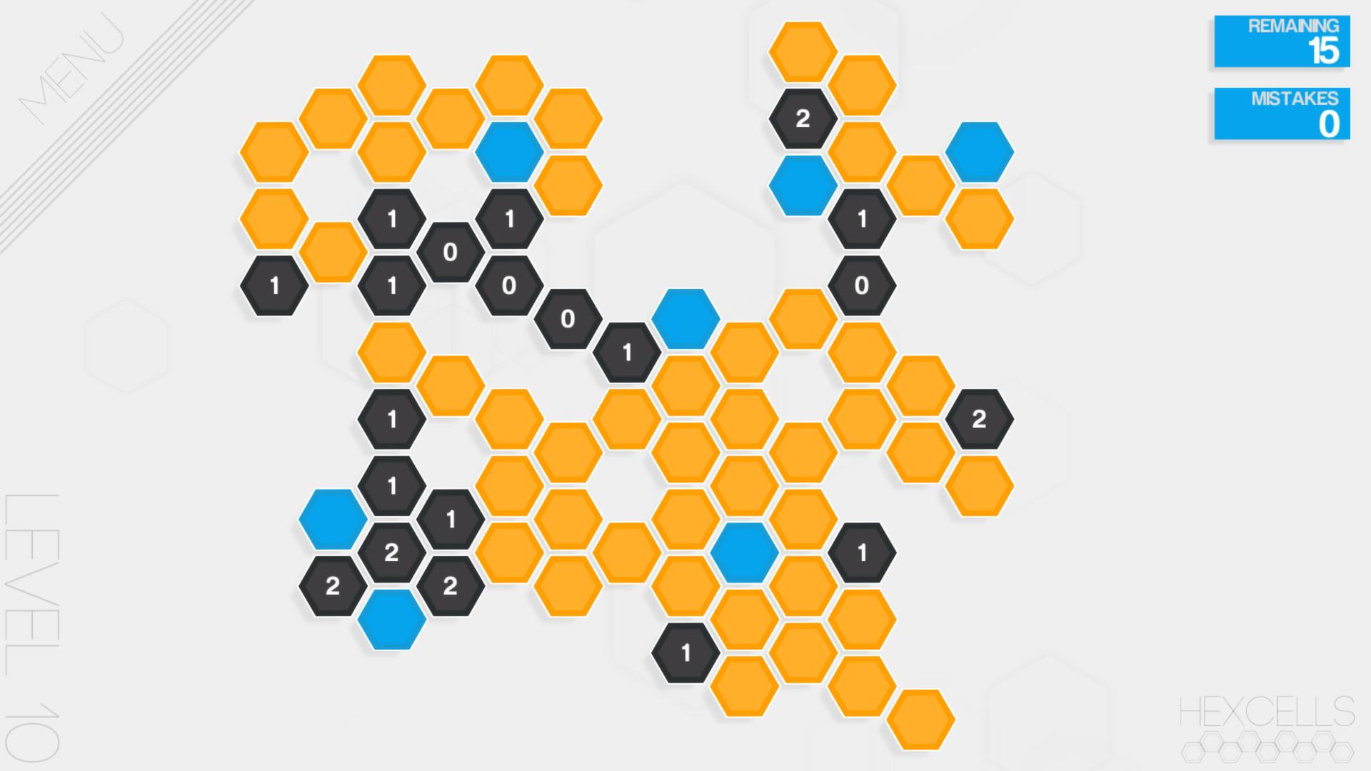 Hexcells screenshot