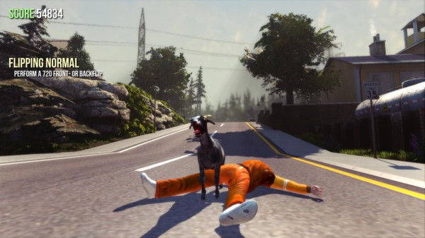 Скриншот игры [Аккаунт] Goat Simulator